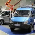 Автовышка и самосвал на базе «ГАЗель NEXT» были представлены в Москве